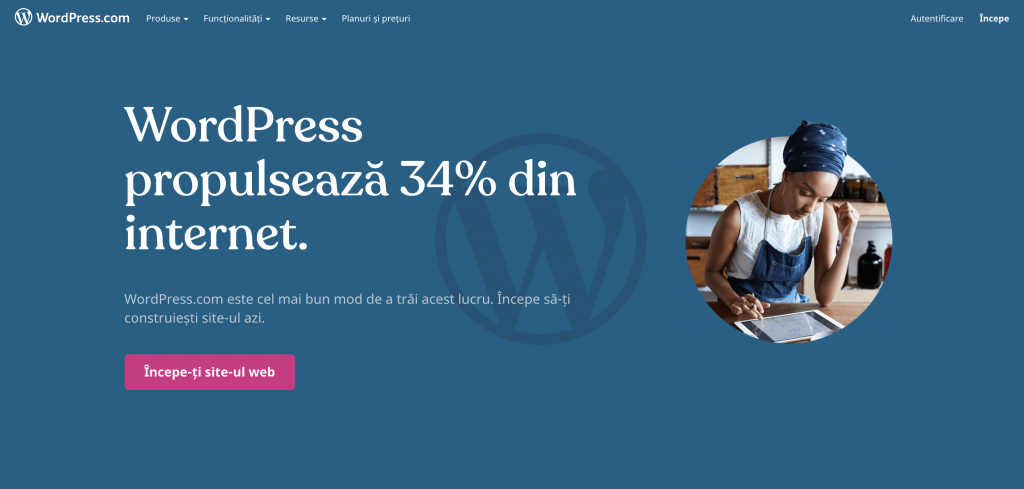 Platforma CMS WordPress